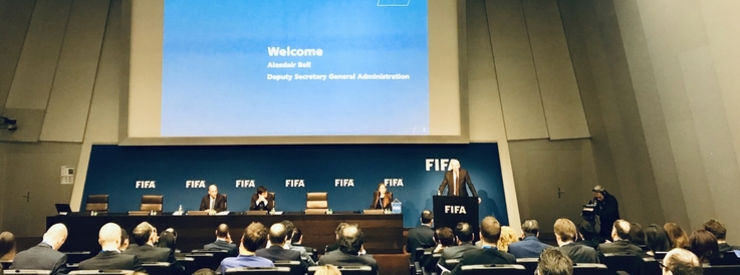 FIFA holds First Football Law Annual Review