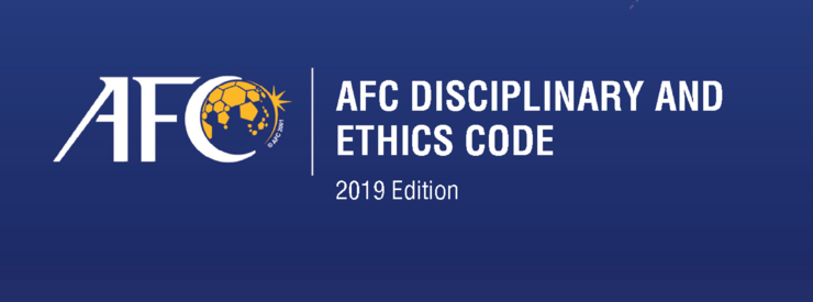 AFC Disciplinary and Ethics Code - Ed 2019
