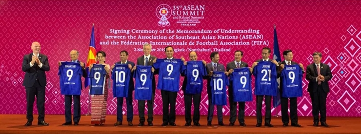 FIFA and ASEAN Sign MoU to Strengthen Collaboration