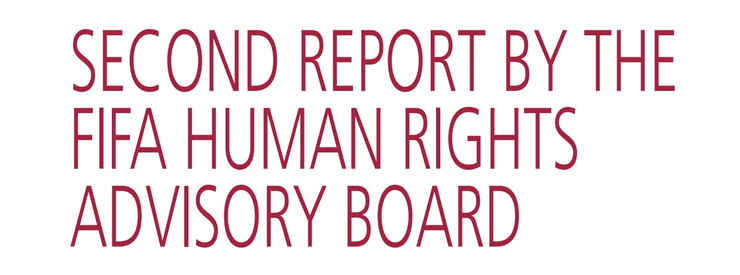 FIFA publishes its second Report of FIFA's Human Rights Advisory Board