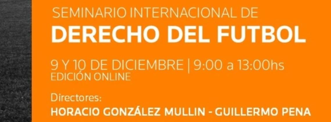International Football Law Seminar (in Spanish)