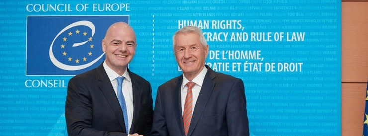 The Council of Europe Endorses FIFA's Transfer System Reforms