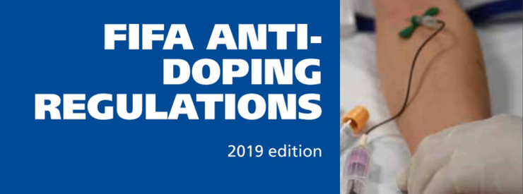 2019 Edition of the FIFA Anti-Doping Regulations to Come into Force