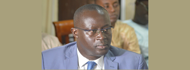 Interview with Augustin Senghor,President of the Senegalese Football Federation