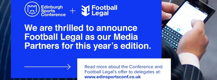 Football LegalBecomes Media Partner for the 2019 Edinburgh Sports Conference