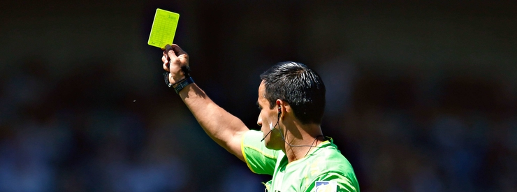 The referees' strike