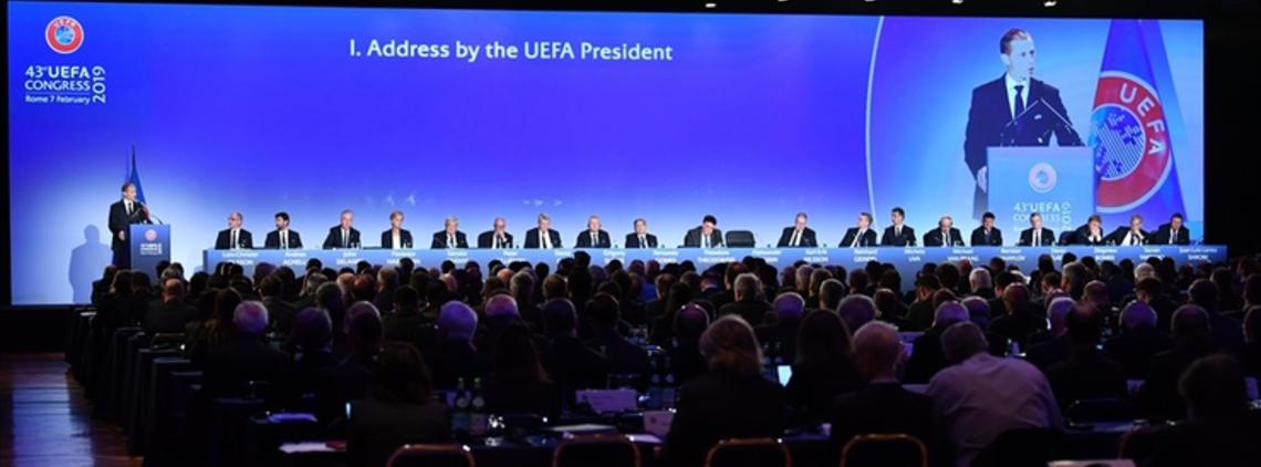 Aleksander Čeferin re-elected as UEFA President