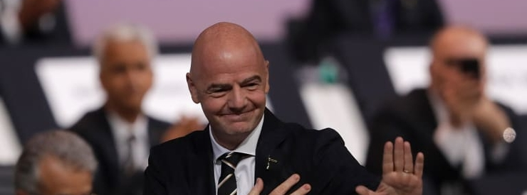 FIFA Congress re-elects Infantino as FIFA President