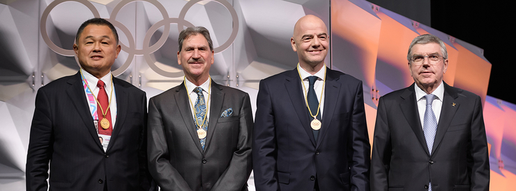 Gianni Infantino Elected as a Member of the International Olympic Committee