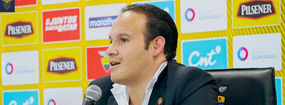 CONMEBOL Dismisses Claim against Francisco Egas