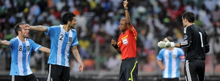CAF Suspends Referee