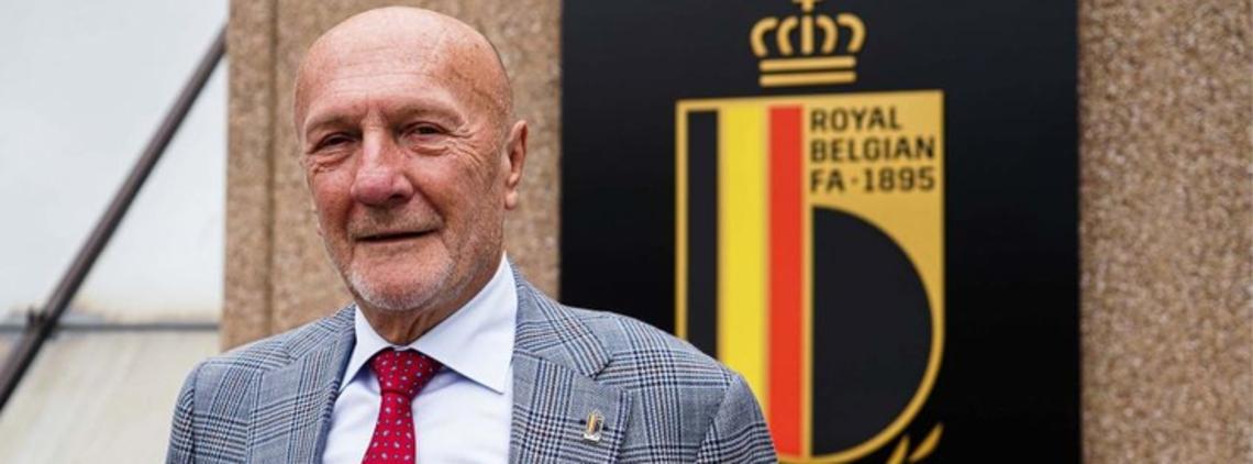 The Belgian FA Elects Mr Robert Huygens