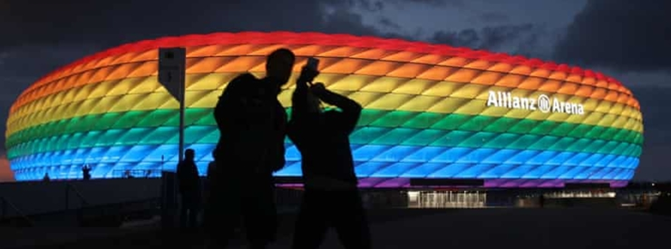 UEFA Proposes Alternative Dates for Rainbow Colors Display