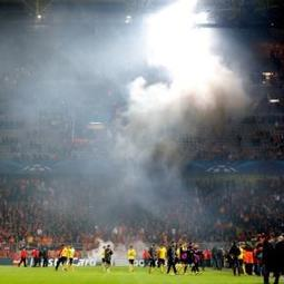 UEFA charges Galatasaray after their Champions League tie at Borussia Dortmund
